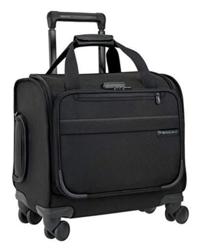 Briggs and Riley baseline carryon, best luggage air travel, best carryon airplane luggage, best luggage for carryon