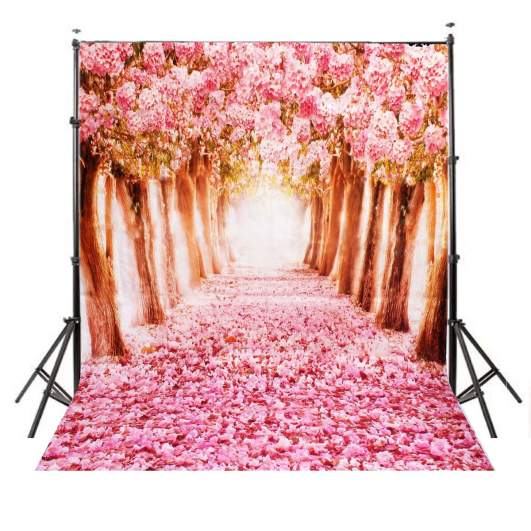 Cherry Blossoms photography backdrops, affordable photography backdrops, best photography backgrounds, cheap best photo backdrops
