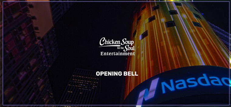 Chicken Soup for the Soul, IPO, Ashton Kutcher
