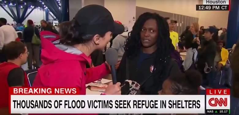 Danielle Houston Survivor, CNN Hurricane Harvey, CNN Harvey coverage