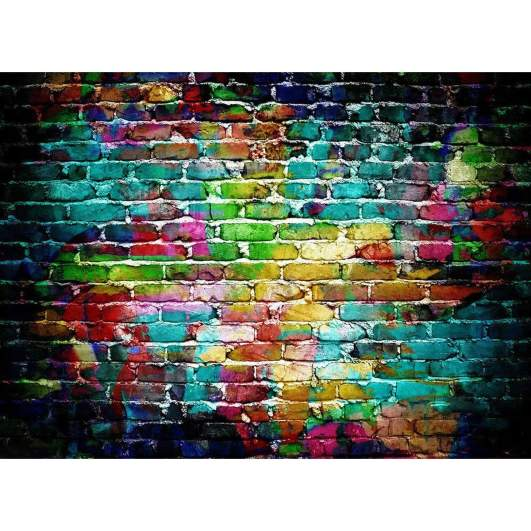 colorful bricks photography backdrops, affordable photography backdrops, best photography backgrounds, cheap best photo backdrops