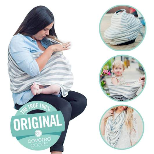 Covered Goods Multi-use Nursing Cover, best new baby products, new baby products, best nursing cover, new nursing cover, best new nursing cover, four in one nursing cover, convertible nursing cover