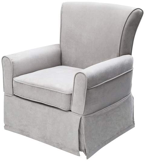 Delta Furniture Benbridge Upholstered Glider Swivel Rocker Chair, gray nursery glider, nursery glider, best nursery glider, nursery rocking chair, best nursery rocking chair, swivel glider, swivle rocker, rocker chair