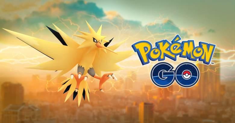 pokemon go Zapdos, pokemon go Zapdos graphic, Zapdos pokemon