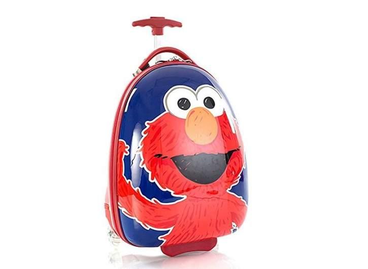 elmo kids luggage, best luggage kids, best travel bags kids, best luggage sets kids