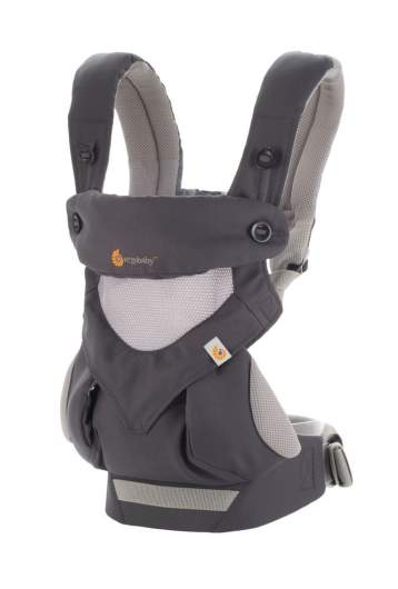 Ergobaby 360 All Carry Positions Award-Winning Cool Mesh Ergonomic Baby Carrier, best baby carrier, baby carrier, baby carrier backpack, structured baby carrier