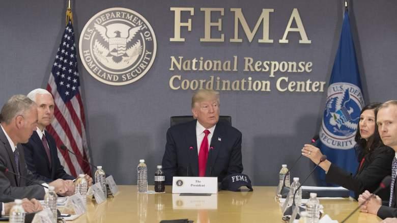 FEMA Hurricane Harvey, Donald Trump FEMA