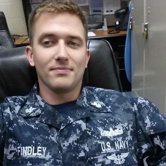charles nathan findley, charles findley, uss mccain