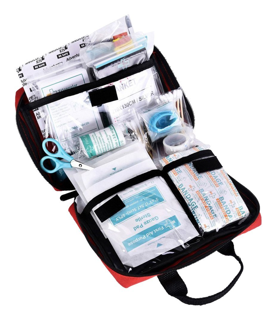 reebow tactical gear, first aid kit, road trip