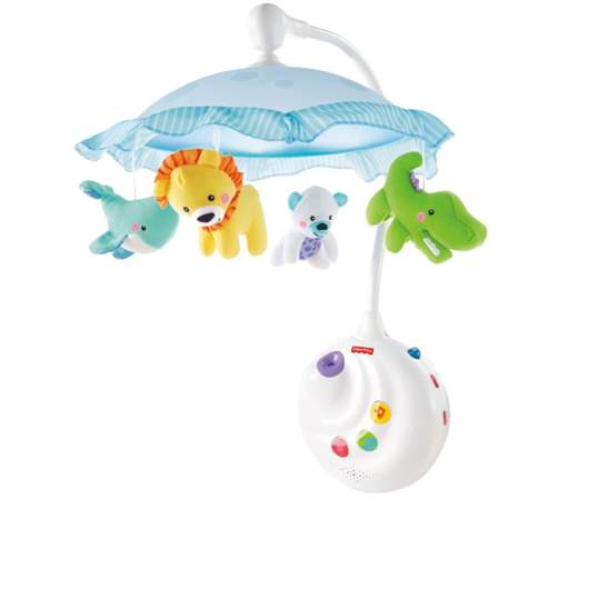 Fisher-Price Precious Planet 2-in-1 Projection Mobile, best baby mobiles, baby mobiles, crib mobiles, best crib mobiles, projection mobile, musical mobile