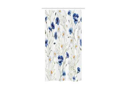 Ambesonne Watercolor Flower Stall Shower Curtain
