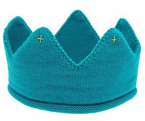 Fullkang Baby Crown Woolen Yarn Knit Headband Hat, wool crown hat, baby crown hat, knitted crown hat, knit crown hat, blue crown hat for baby, baby hair accessories, best baby hair accessories, hair accessories for baby boys