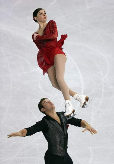 Haven Denney, Brandon Frazier, Winter Olympics 2018, pairs figure skating