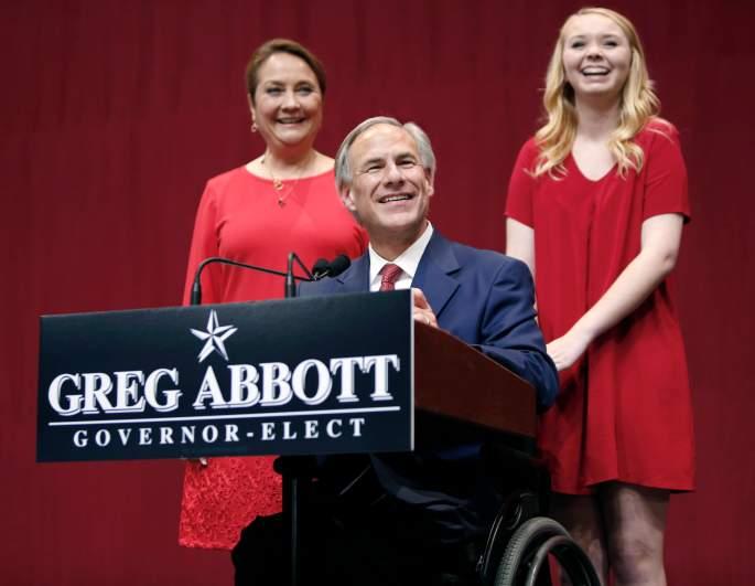 Cecilia Abbott, Greg Abbott wife, Greg Abbott family
