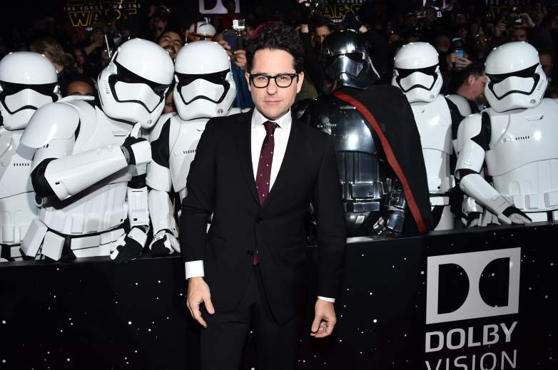 J.J. Abrams the force awakens, J.J. Abrams force awakens red carpet, J.J. Abrams star wars red carpet