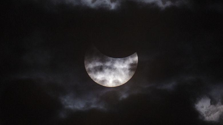 Solar eclipse Texas