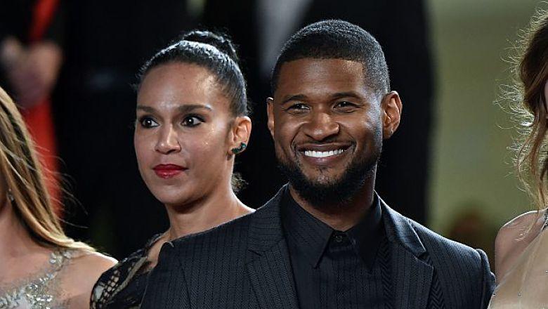 Usher's wife