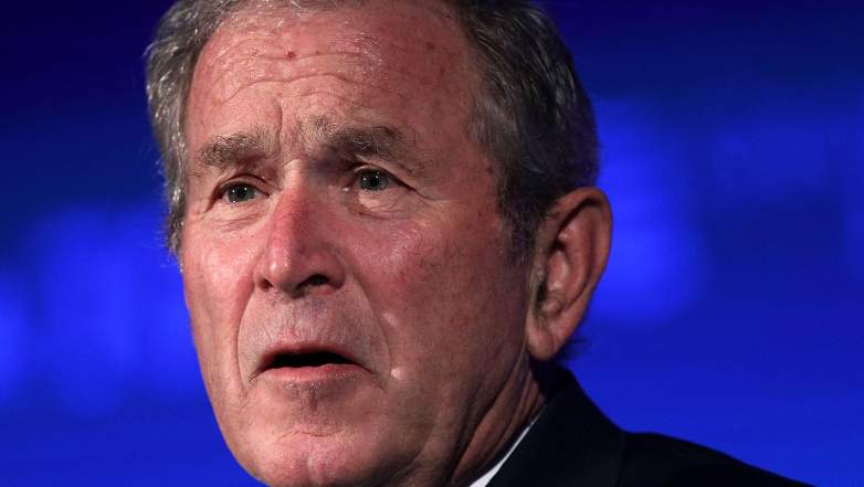 George Bush Charlottesville statement, George Bush Charlottesville, George Bush Donald Trump
