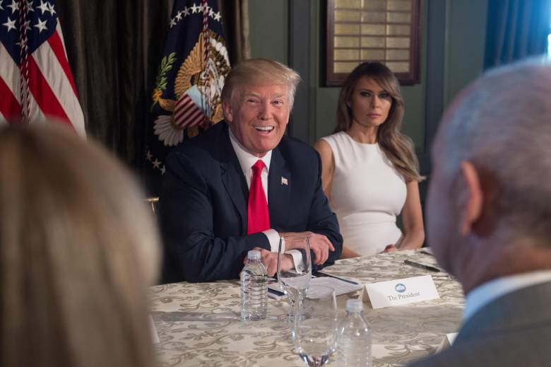 What Is the Age Difference Between Donald and Melania Trump?, melania and donald trump ages