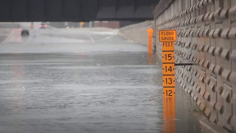 houston rainfall totals, houston rain totals