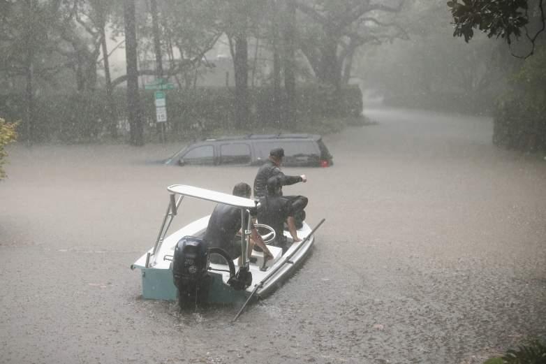 Hurricane Harvey Cajun Navy, the Cajun Navy