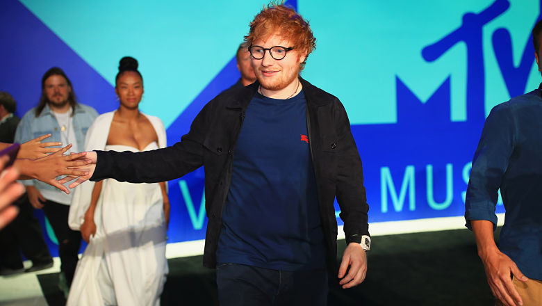 Ed Sheeran red carpet