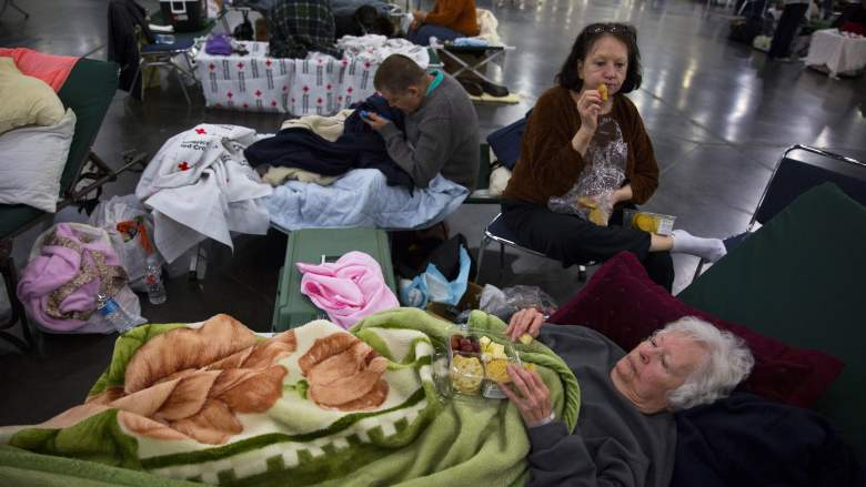Houston illegal immigrants, Harvey shelters
