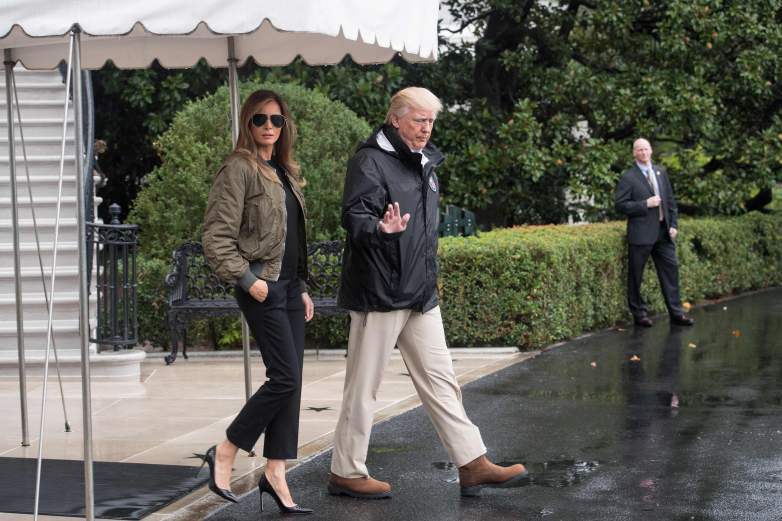 Melania Trump shoes