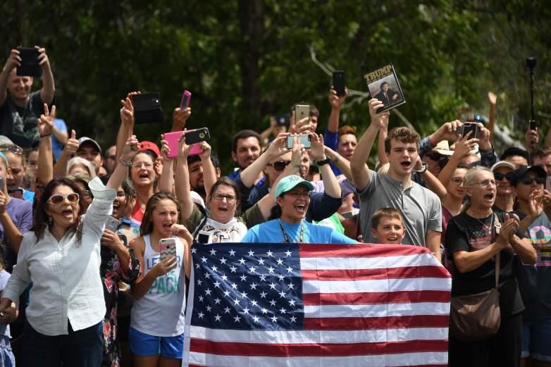 Donald Trump crowd, Donald Trump Corpus Christi, Donald Trump Texas photos