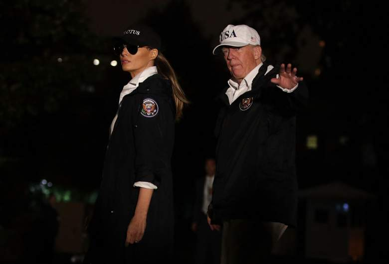Melania Trump Texas, Donald Trump Texas photos, Donald Trump Corpus Christi