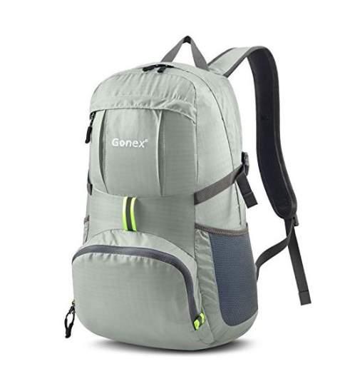gonex packable backpack, best lightweight luggage options, best lightweight air luggage, light luggage air travel