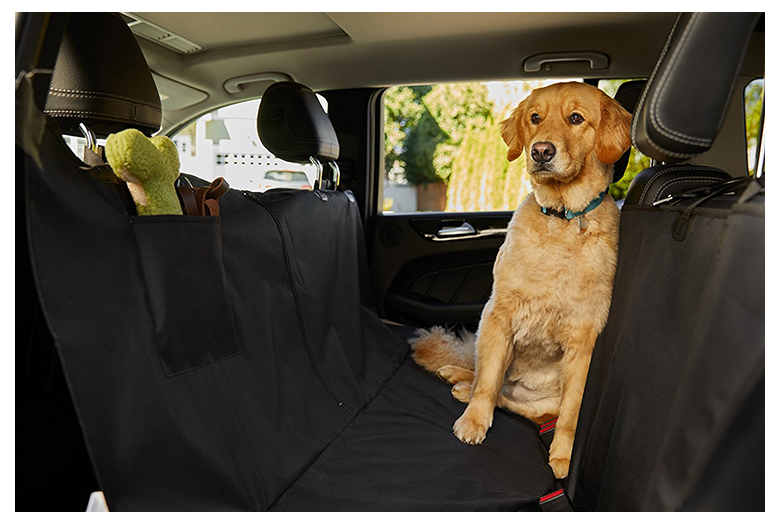 Mr E Saver/© Premium Quilted Pet Dog Cat Hammock Rear Seat Cover Protector MRQUIL3320