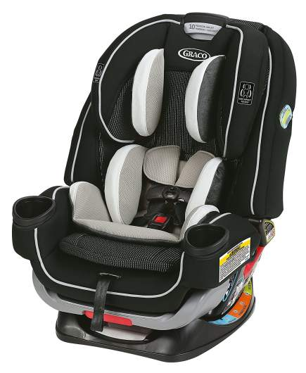 Graco 4Ever Extend2Fit All in One Convertible Car Seat, best new baby products, new baby products, best new car seats, new car seat, convertible car seat, best convertible car seat, rear facing car seat, best rear facing car seat, graco car seat