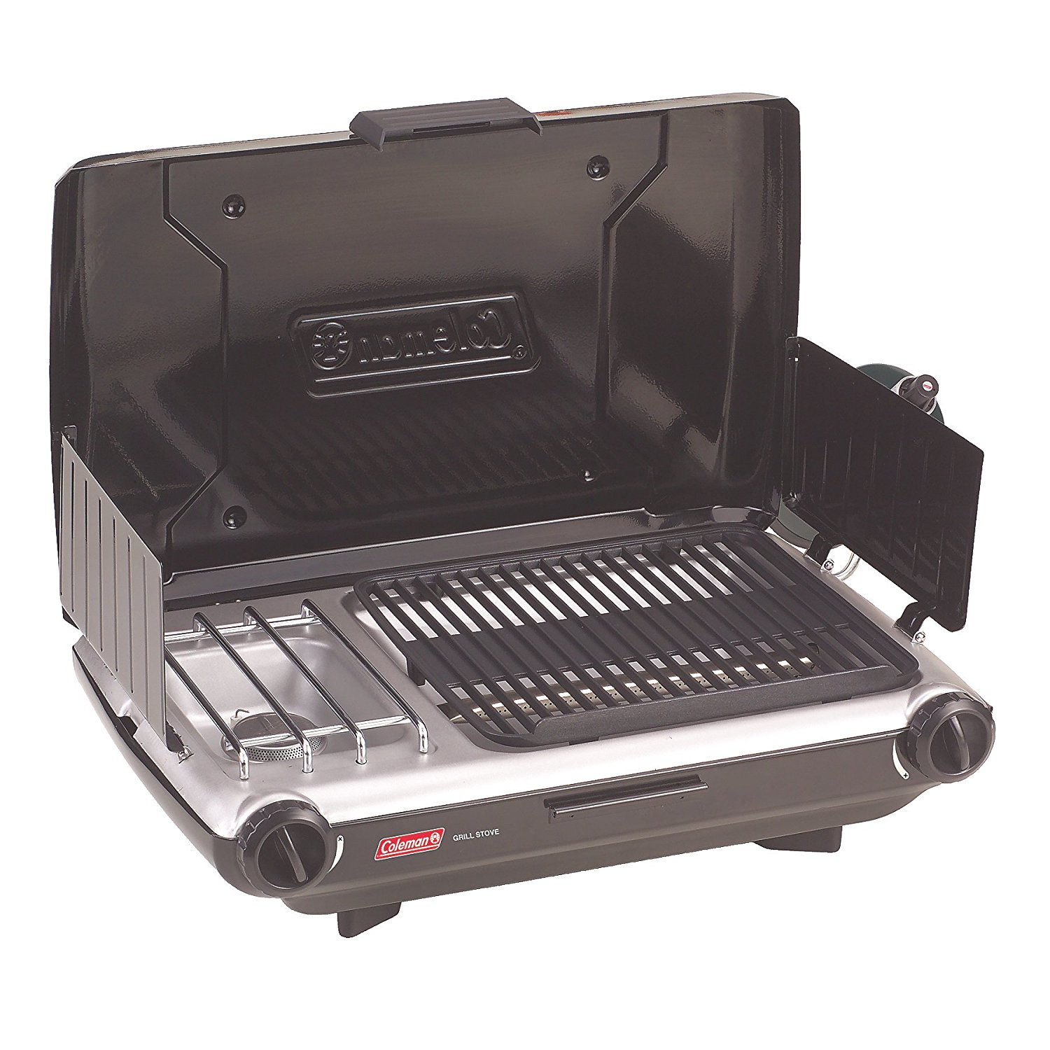 coleman, camp stove, grill, camping, cross country, roadtrip