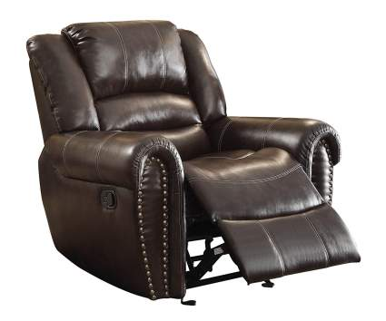 leather recliners, glider recliners