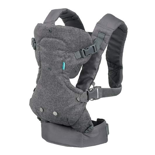 Infantino Flip Advanced 4-in-1 Convertible Carrier, baby carrier, best baby carrier, baby carrier backpack, convertible baby carrier, structured baby carrier