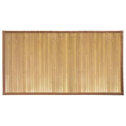 bathroom rugs, bamboo bathroom rugs