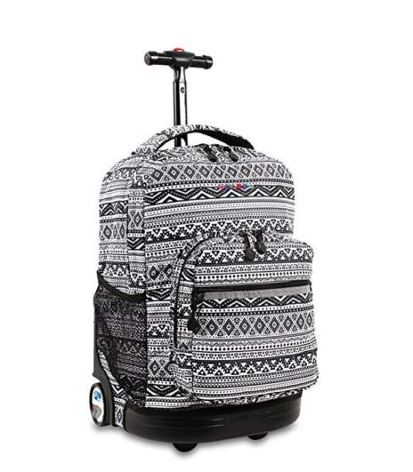 j world rolling backpack, best cheap luggage, best cheap baggage, best affordable luggage baggage