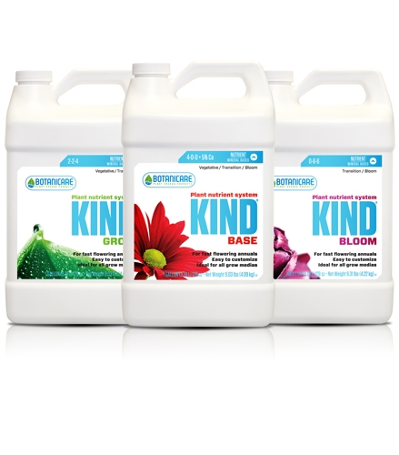 Botanicare KIND Base, Bloom & Grow Fertilizer