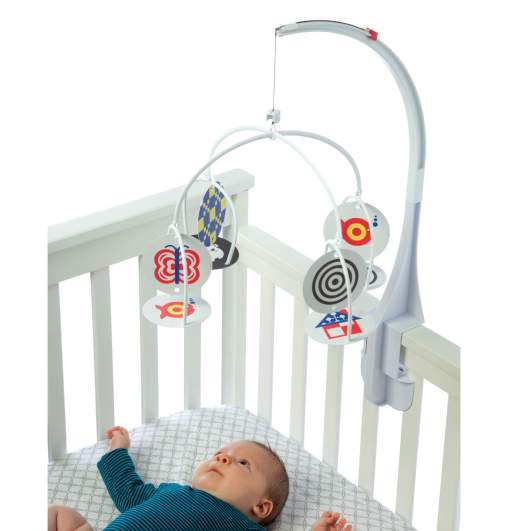Manhattan Toy Wimmer-Ferguson Infant Stim-Mobile for Cribs, baby mobiles, best baby mobiles, crib mobiles, best crib mobiles, card mobile, high contrast mobile