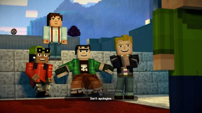 Minecraft Story Mode Season Two Episode One Review Heavy Com