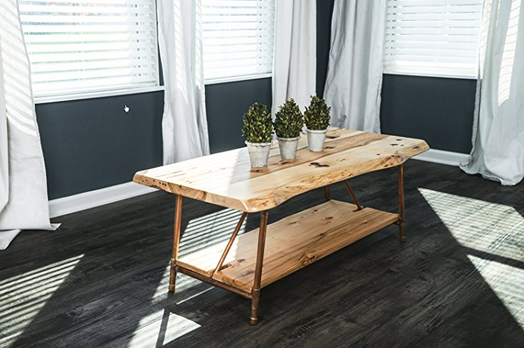 rustic coffee tables, hickory coffee table