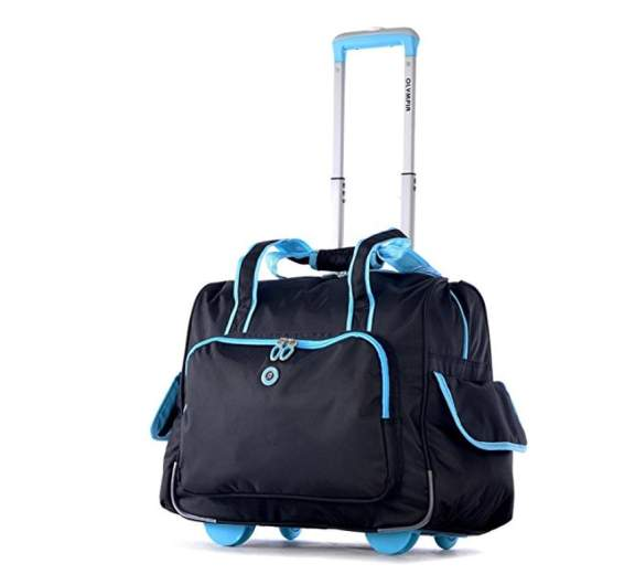 Olympia Delux Fashion Overnighter, cute luggage sets, cute luggage bags and suitcases, cute luggage sets, cute carryon bags