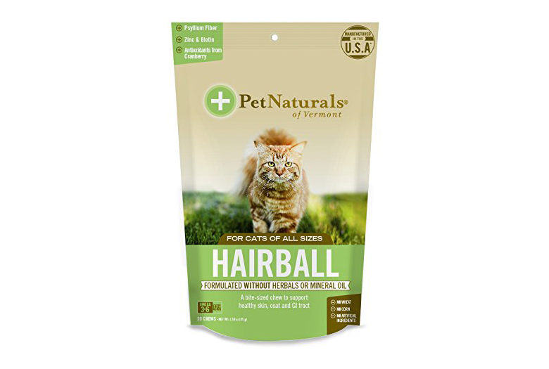 Image of pet naturals of vermont hairball remedy for cats