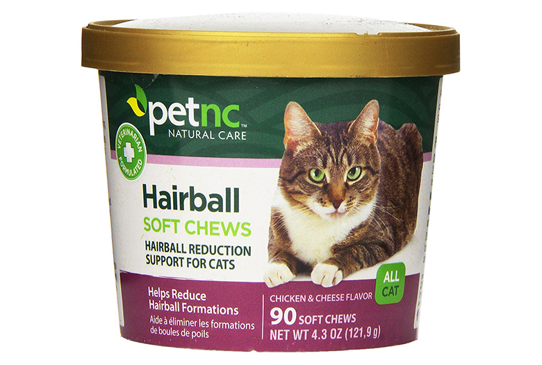 Image of petNC natural hairball remedy for cats