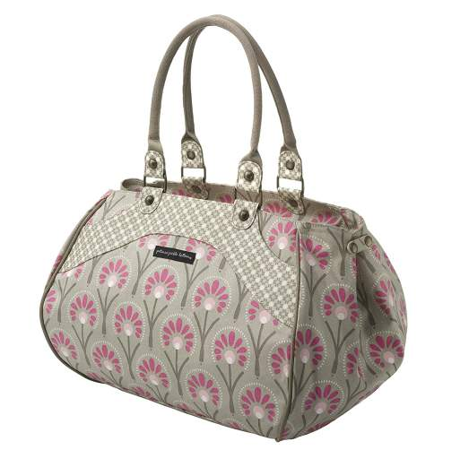 Petunia Pickle Bottom Wistful Weekender (Alluring Azaleas), petunia pickle bottom diaper bag, best diaper bags, diaper bags, best diaper bags for new moms, diaper bags for new moms, cute diaper bag, stylish diaper bag, patterned diaper bag, designer diaper bag, shoulder diaper bag, weekender diaper bag