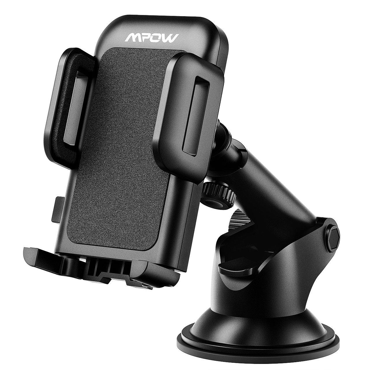 mpow, phone holder, road trip