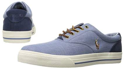 polo ralph lauren mens vaughn lace-up sneaker