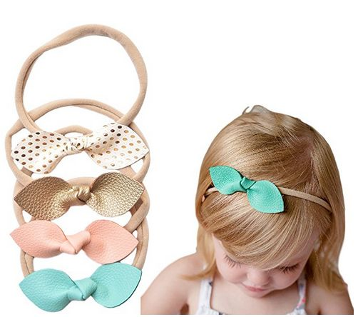 california tot faux leather headbands, baby hair accessories, best baby hair accessories, faux leather headbands, leather headbands, rabbit ear headbands, pastel headbands, headbands for baby girls