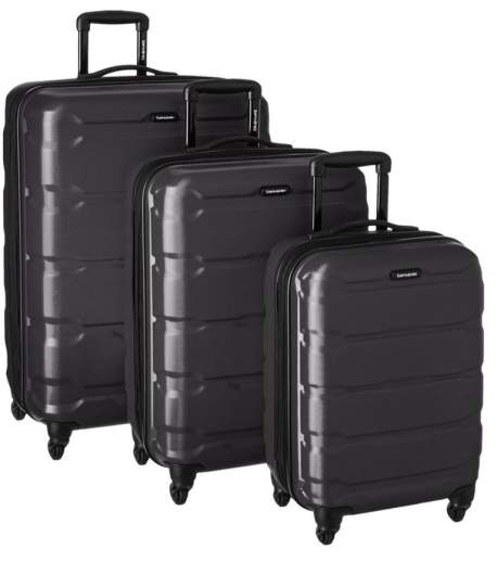 samsonite omni luggage set, best luggage set cheap, best affordable luggate set, cheap affordable luggage set